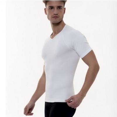 T-Shirt mit Schlankheitseffekt Männer | Weiß
