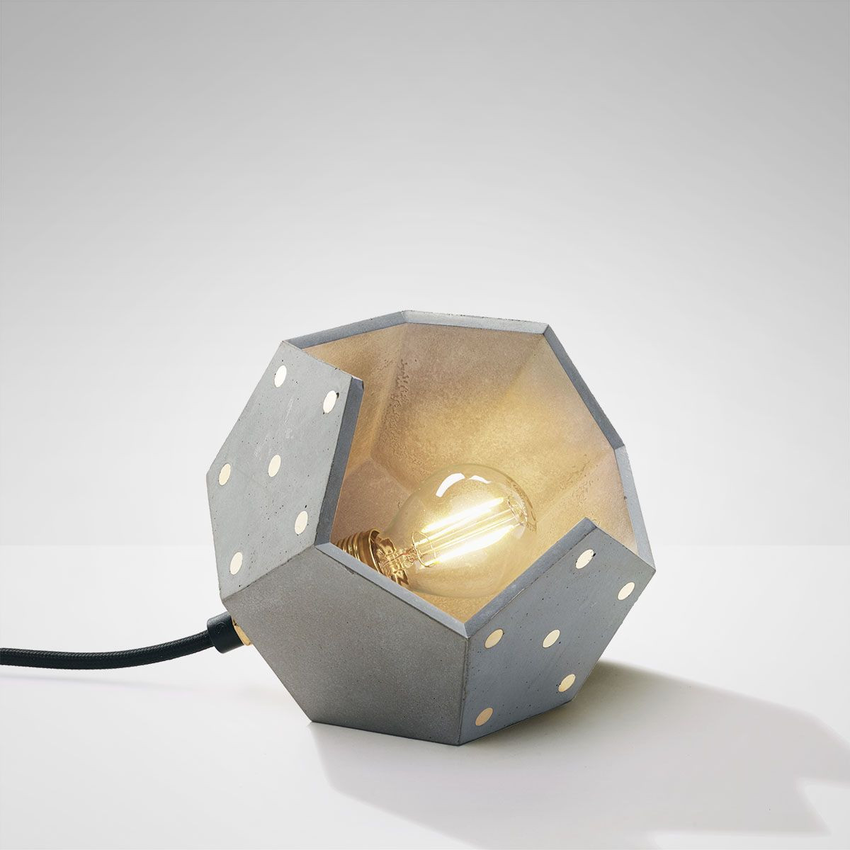 Table Lamp Basic Twelve Solo   Concrete