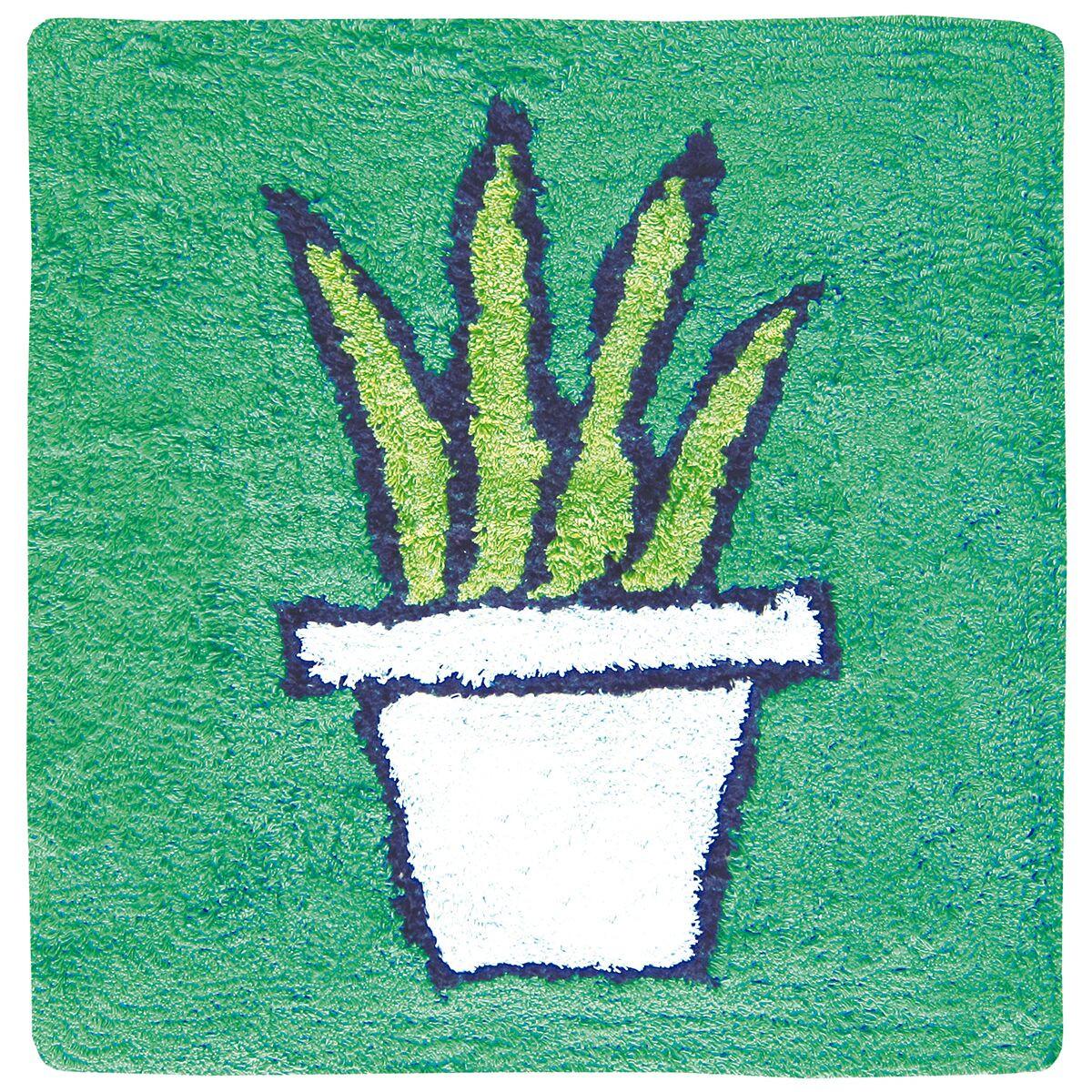 Tapis de Bain Plante   Vert