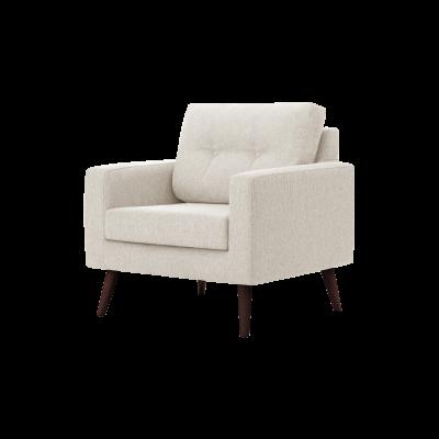 1-Sitzer-Sofa Biber   Sahne