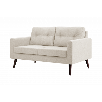2-Sitzer-Sofa Biber   Sahne