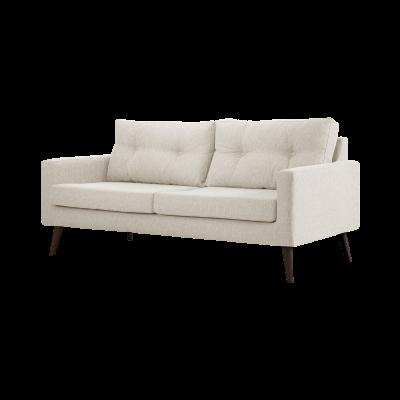 3-Sitzer-Sofa Biber   Sahne