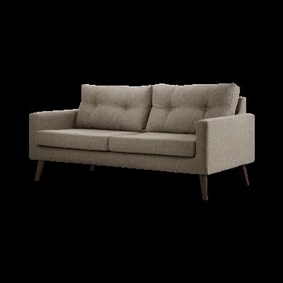 3-Sitzer-Sofa Biber   Taupe