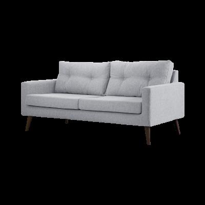 3-Sitzer-Sofa Biber   Hellgrau