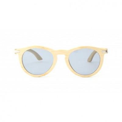 La Une Wooden Sunglasses   Bamboo Natural