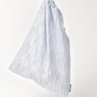 Laundry Bag White/Blue