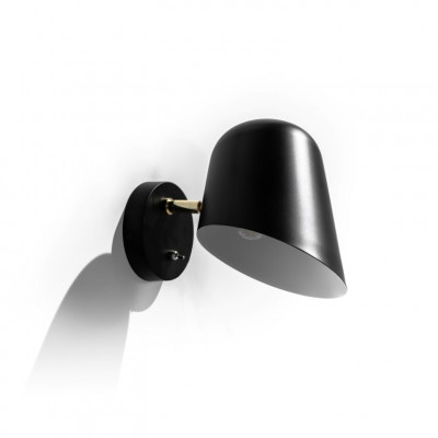 Wandlampe LA155N | Schwarz
