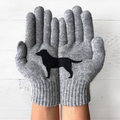 Handschuhe Labrador   Grau