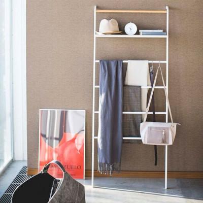 Leiterhänger breit mit Rack Tower | Weiß