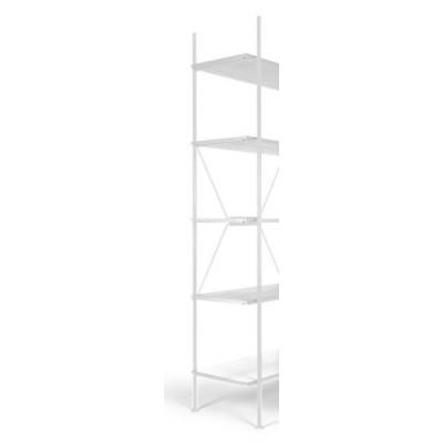 Lagerregalsystem Hochleiter | Weiß
