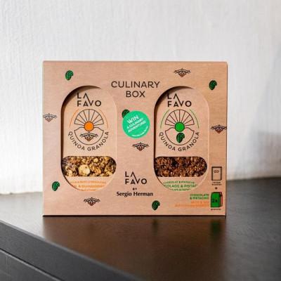 Kulinarische Geschenkbox von La Favo & Sergio Herman