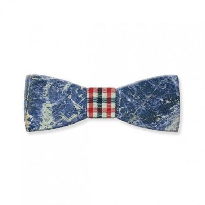 Marble Bow Tie | Laguna Blue Gemstone