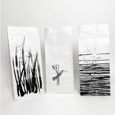 Set of 3 Paper Bags   Lake