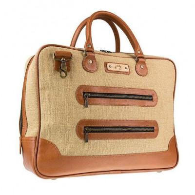Lamar Laptop Bag   Camel