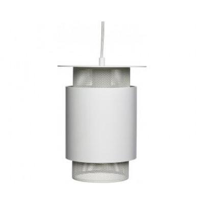 Lampenschirm Metall   Weiß