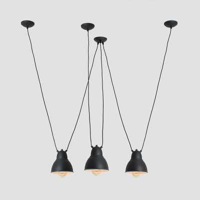 Pendant Lamp Adjustable Coben Hangman Fix 3 | Black