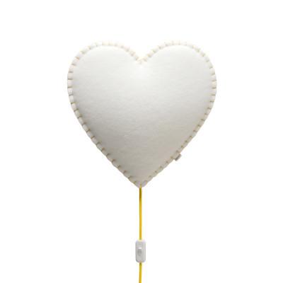 Wall Lamp Heart | Yellow