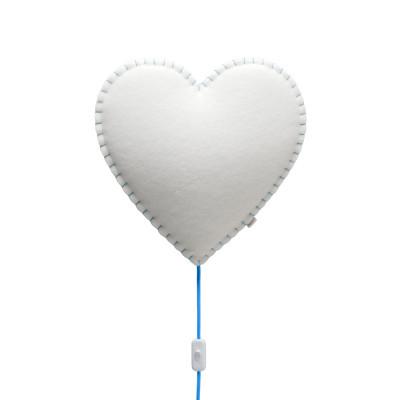 Wall Lamp Heart | Blue