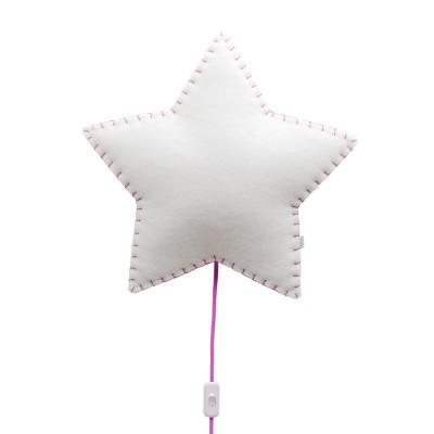 Wall Lamp Star | Pink