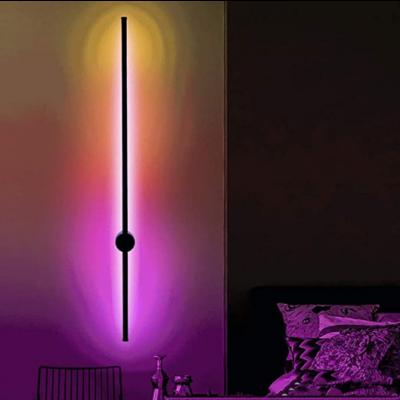 RGB Wall Light Minimalist Laser 80 cm | Black