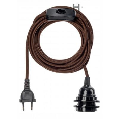 Bala Power Cord   Brown