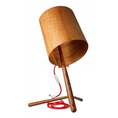 Holzlampe Teakholz
