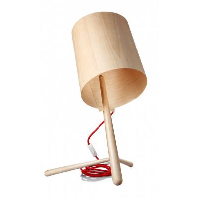 Holzlampe Ahorn
