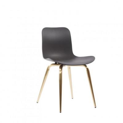 Langue Avantgarde Dining Chair Messing   Anthrazit Schwarz