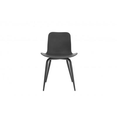 Langue Avantgarde Dining Chair Schwarz   Anthrazit Schwarz