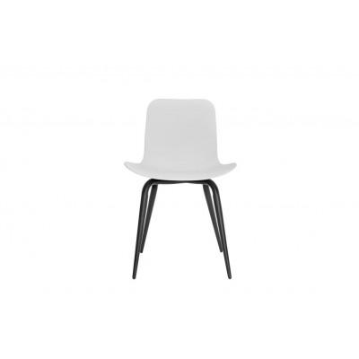 Langue Avantgarde Dining Chair Schwarz   Off White