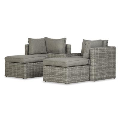 Lounge-Set Koen   Grau