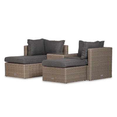 Lounge-Set Koen   Braun