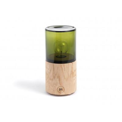 Lantern | Oak/Green