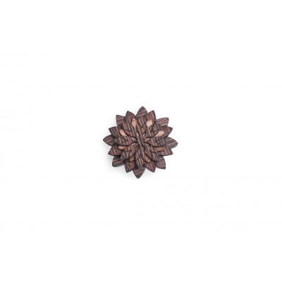 Holzaufsetzer-Deko-Blume