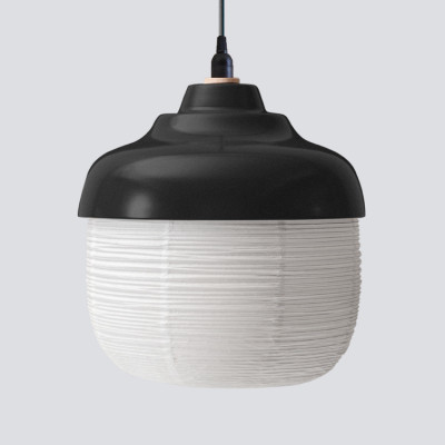 Pendant Lamp The New Old Light L | Black