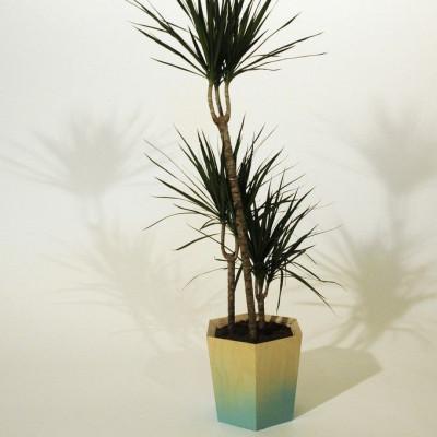 Sechseckiger Pflanzentopf   Groß