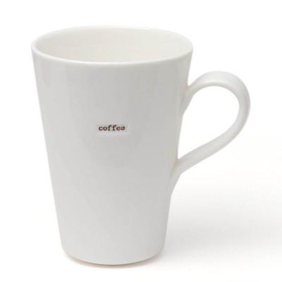 "Set of 2 Latte Mugs ""Coffee"""