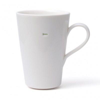 "Set of 2 Latte Mugs ""Tea"""