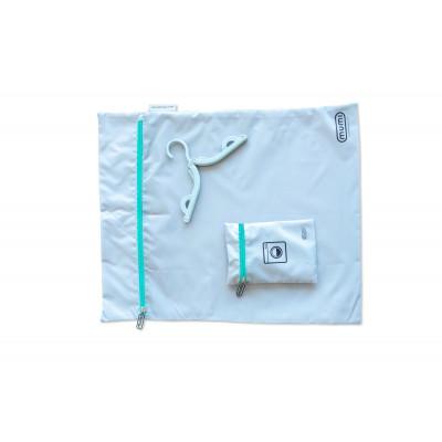 Travel Laundry Bag | Aqua