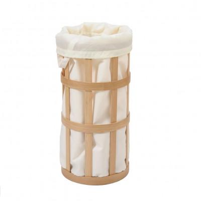 Wäschekorbkäfig | Eiche natur - Soft White