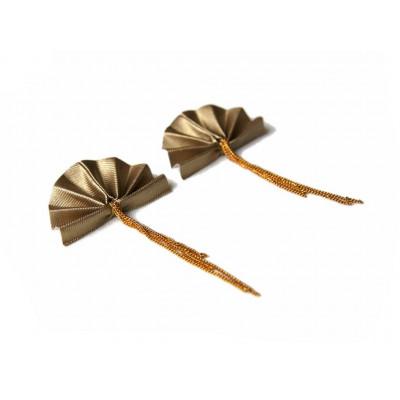 Laura Earrings Gold