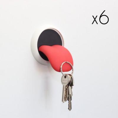 Key Holder Tongue | Set of 6