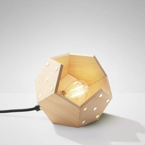 Table Lamp Basic Twelve Solo | Wood