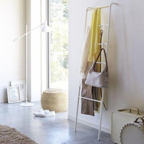 Kleiderständer Leiter | Weiß
