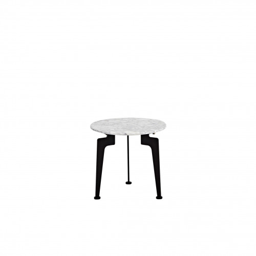 Laser Side Table Marble | Small