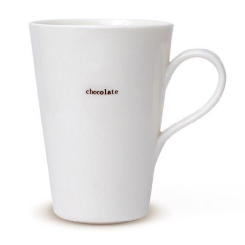 "Set van 2 Latte Tassen """"Chocolate"""
