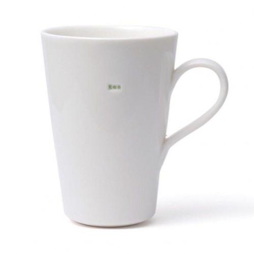 "Set van 2 Latte Tassen ""Tea"""