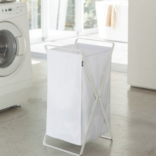 Laundry Basket Tower   White