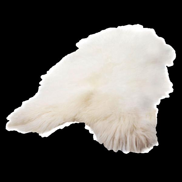 Isländisches Schaffell | Weiß