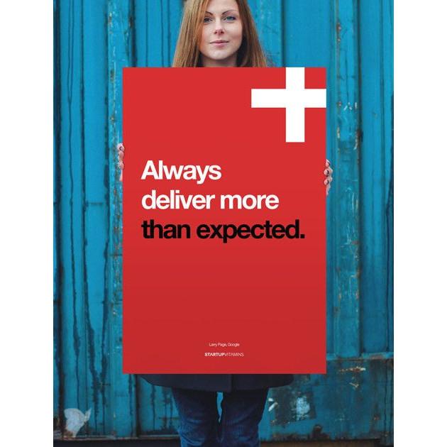 Always Deliver More